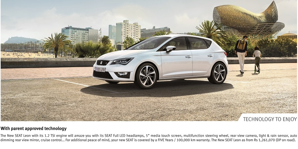 SEAT Launch - LEON 5D FR - LExpress Quotidien