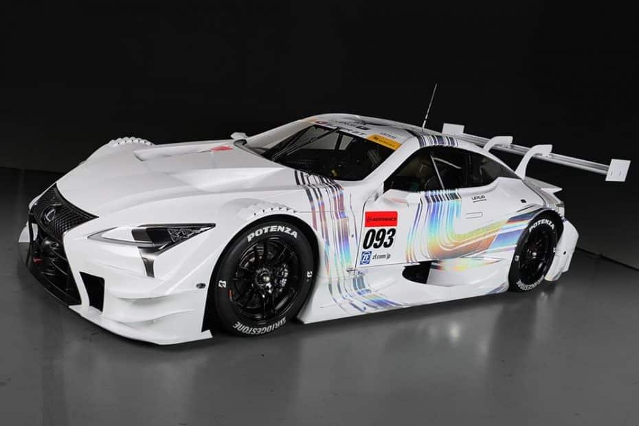 Lexus quiere arrasar en la competición japonesa: Atento a su nuevo LC500 Super GT de 600 CV