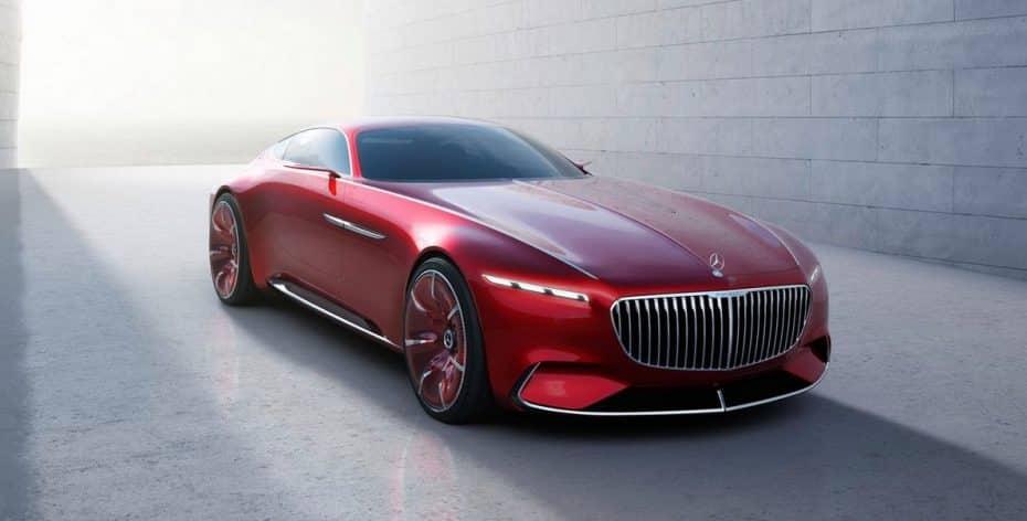 ¡Filtrado!: Así es el Vision Mercedes-Maybach 6, un espectacular coupé plagado de lujo y tecnología