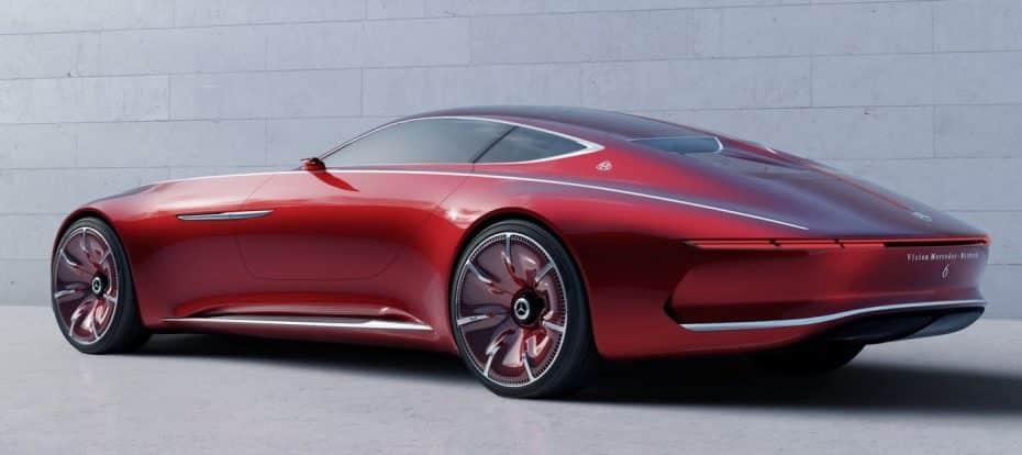 Todas las imágenes del Vision Mercedes-Maybach 6: Casi 6 metros, 100% eléctrico y con 750 CV