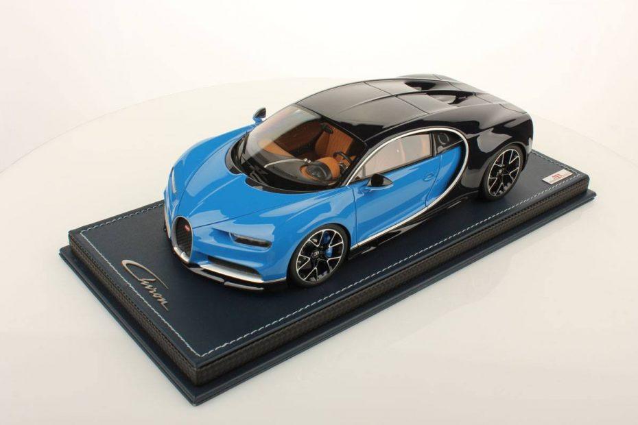 ¿No te llega para un Bugatti Chiron? Tranquilo, este está a escala 1:18 y no le falta ni un sólo detalle