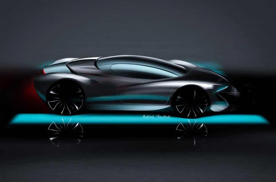 El superdeportivo de Next EV se va destapando: Tendrá una potencia de 1.340 CV y este será su aspecto