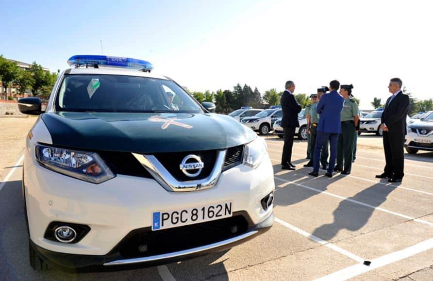 La Guardia Civil incorpora 110 Nissan X-Trail a su flota y cada uno le ha costado 28.027 euros