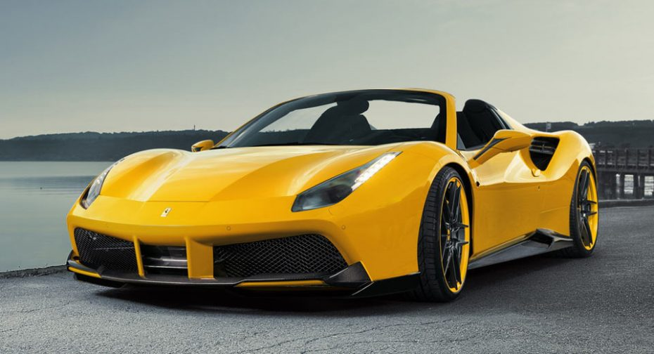 Novitec transforma el Ferrari 488 Spider en una bestia de 782 CV y mucha fibra de carbono a cielo abierto