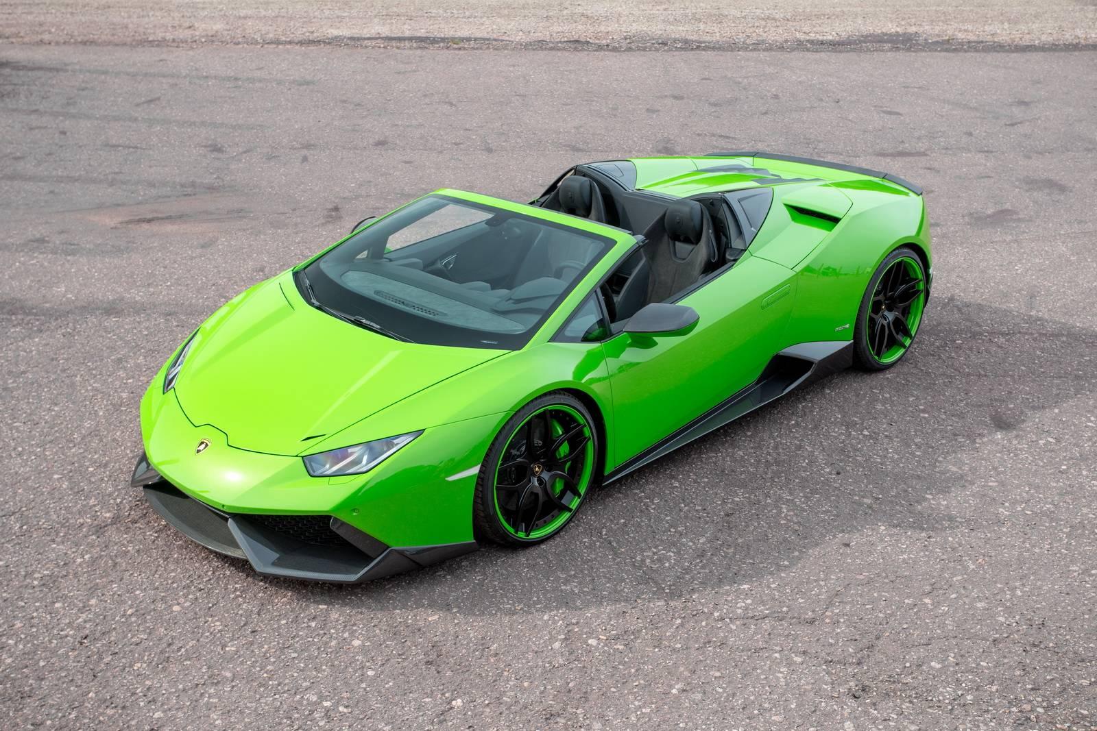 Novitec Torado Lamborghini Huracán Spyder: ¡870 CV que dan mucho miedo!