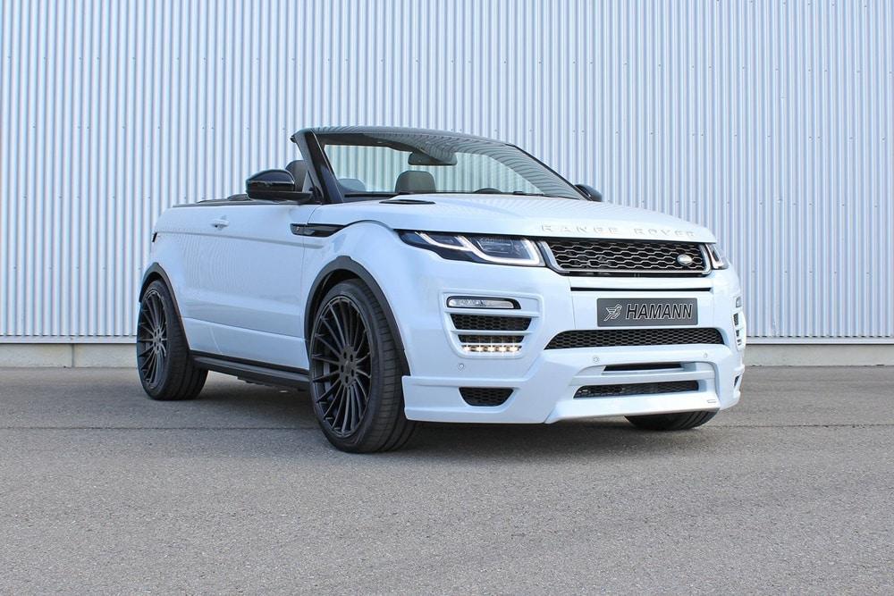 Hamann también se atreve con el cabrio de Range Rover: Deportividad en formato SUV a cielo abierto