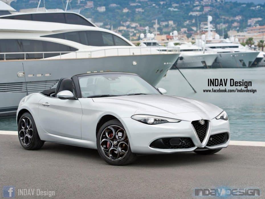 Alfa Romeo Spider 2017: Inspirado en el Giulia ¿Se hará realidad?