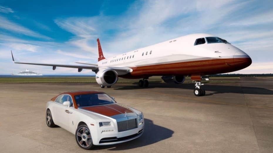 Rolls-Royce Wraith Regatta: Si te sobran 74 millones de euros te lo llevas con jet privado a juego