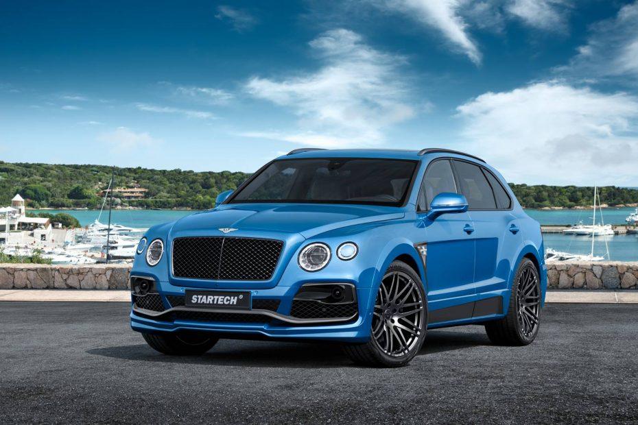 Startech Bentley Bentayga: ¡Ojo a la primera preparación que conocemos del monstruoso SUV británico!
