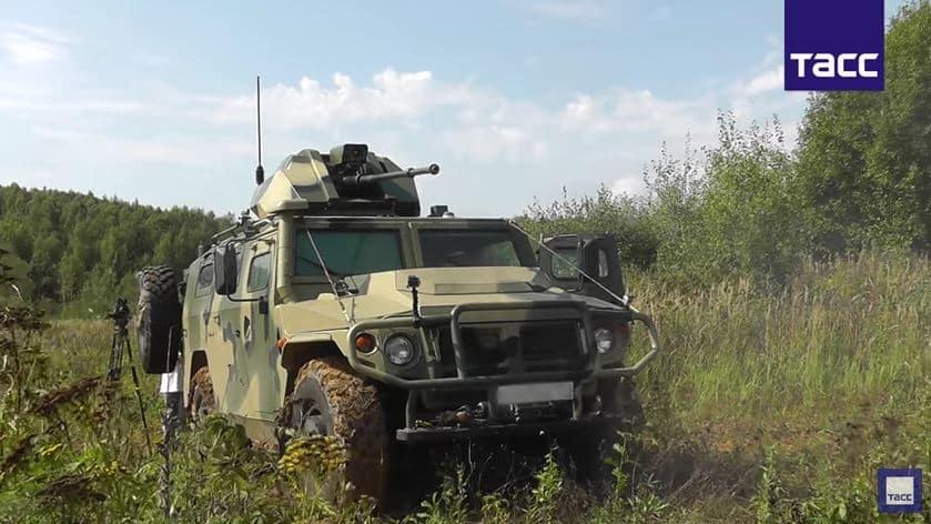 Rusia nos sorprende con un vehículo militar táctico ligero totalmente autónomo