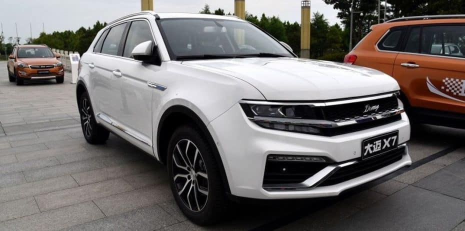 ¡Los chinos no se cortan!: Tras la copia china del Porsche Macan aquí tienes la del nuevo Volkswagen Tiguan