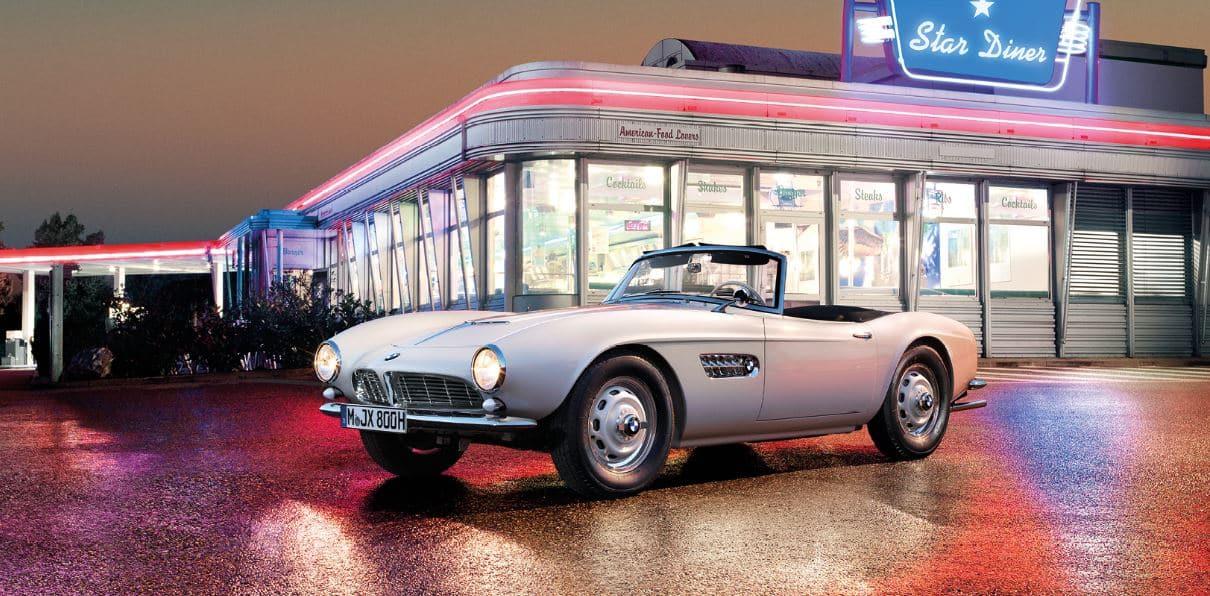 ¡Oficial!: Así ha quedado el BMW 507 de Elvis Presley tras ser restaurado por BMW Group Classic