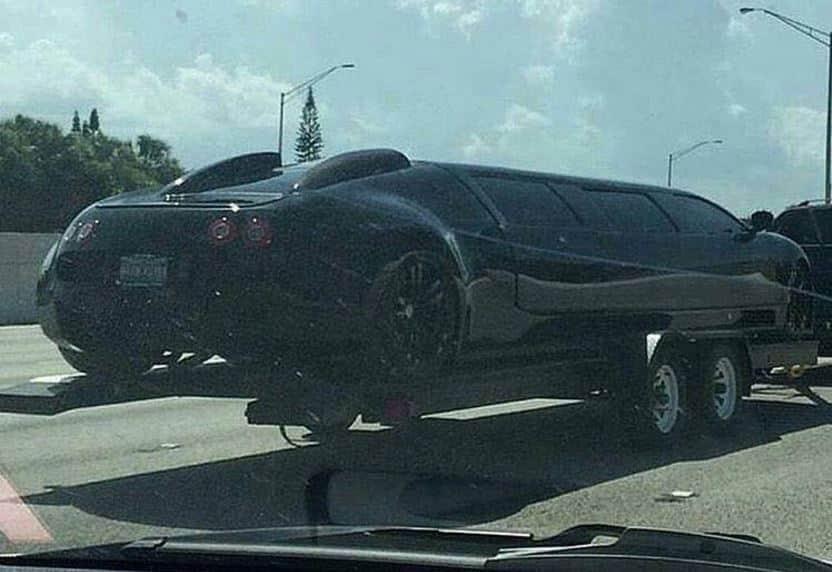 ¿Cortar una Bugatti Veyron para hacer una limusina?: Esperemos que sea broma…