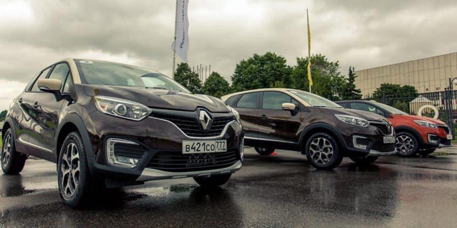 Ventas julio 2016, Rusia: El Renault Kaptur ya es un best-seller