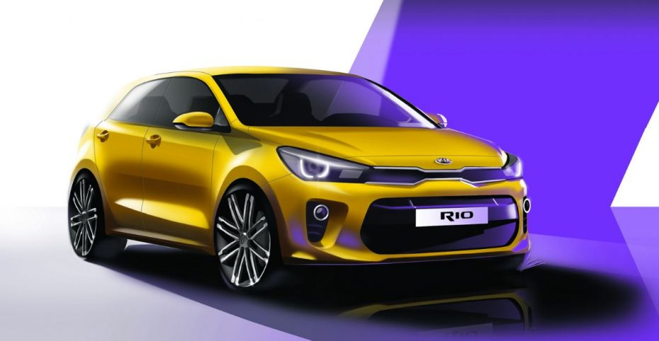 Así es el nuevo Kia Rio: La cuarta generación vendrá cargada de novedades
