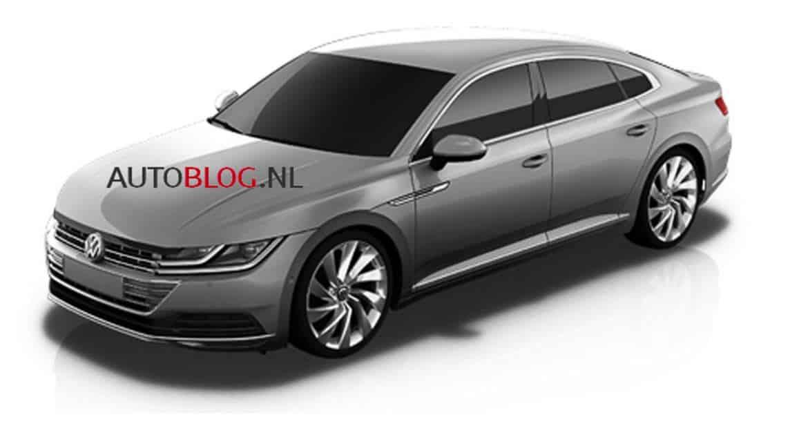 ¿Son estas las primeras imágenes del nuevo Volkswagen CC?: ¿Pensando en un 5 puertas más práctico?