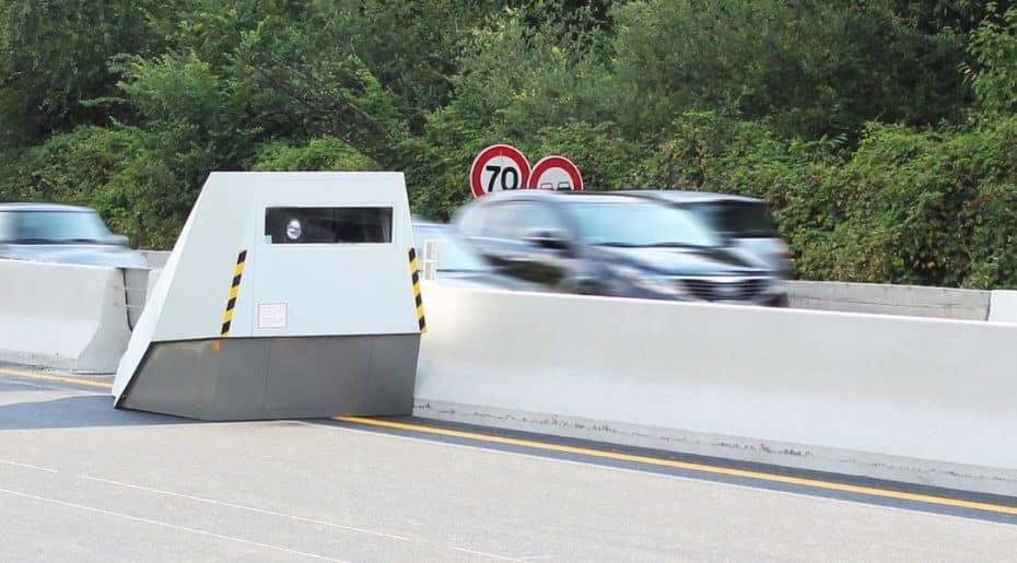 ¡Atento!: Este radar es blindado, pesa más que un Renault Clio y está causando estragos…