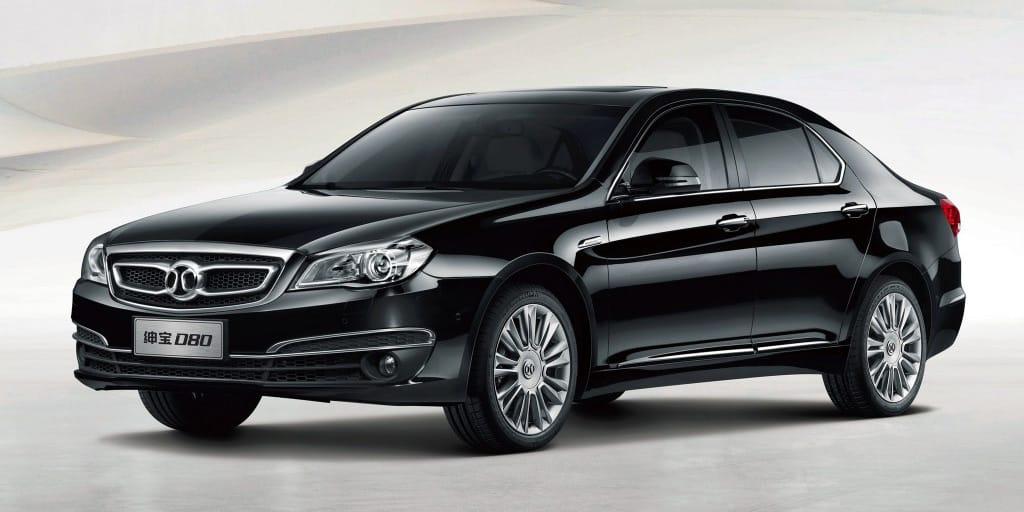La china BAIC aprovechará la plataforma del viejo Mercedes Clase E: Para una berlina