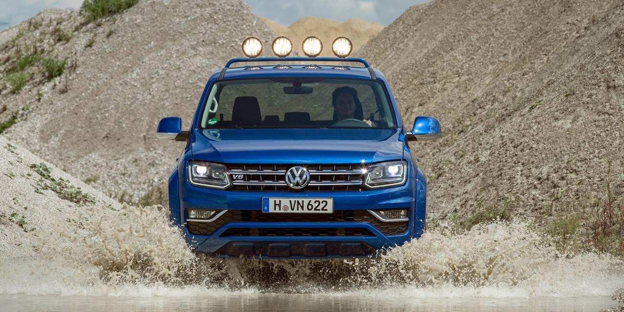 Ya está aquí el Volkswagen Amarok 2017: De momento con 204 y 224 CV