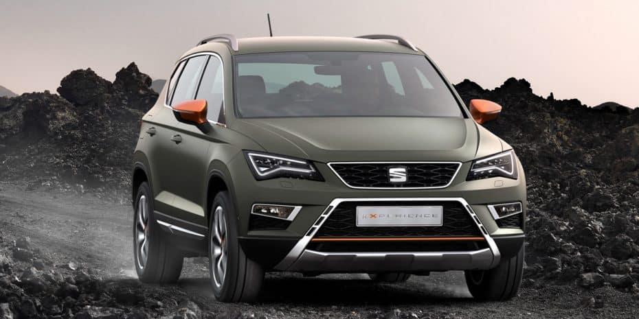 Aquí está el SEAT Ateca X-Perience: Llega la opción más campera