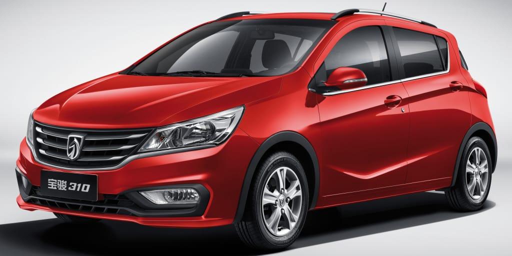 Nuevo Baojun 310: Esencia de Chevrolet Aveo por sólo 4.800 €