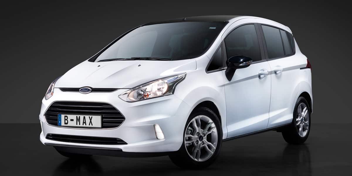 Novedades en la gama Ford B-Max: El motor de un litro, ahora con 140 CV
