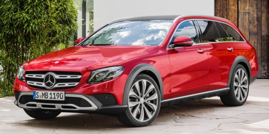 """Ya es oficial: Nuevo Mercedes Clase E Estate """"All Terrain"""""""