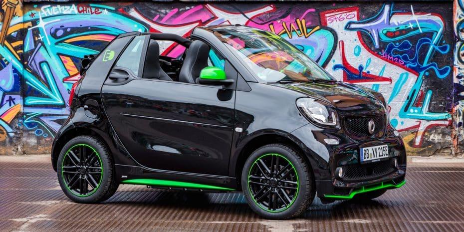 Así son los nuevos Smart ForTwo y ForFour Electric Drive: 82 CV eléctricos