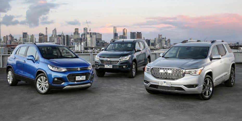 Holden presenta sus nuevos modelos para 2017: Hay Opel, Chevrolet e incluso GMC relogotipados