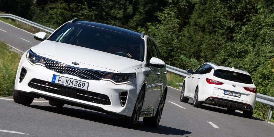 El Kia Optima Sportswagon llegará en octubre: Con motores diésel y gasolina