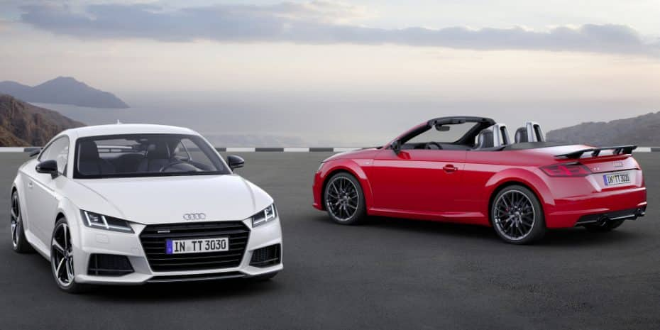 Si no te da para el Audi TT RS, echa un ojo al nuevo TT S-Line Competition: Mucho más barato