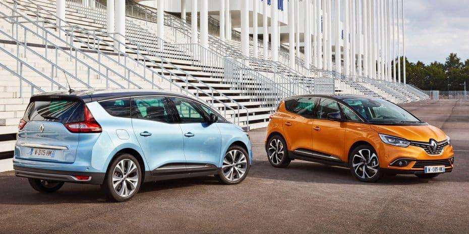Los nuevos Renault Scénic y Grand Scénic, ahora en nuevas imágenes