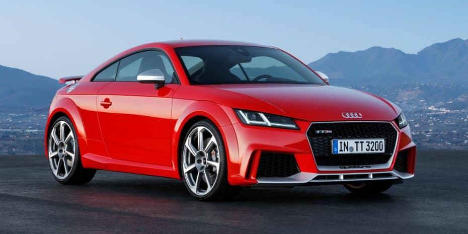 Si te gusta el Audi TT RS, prepara el bolsillo: 400 CV para unos pocos