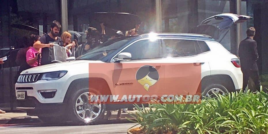 ¡Cazado el nuevo Jeep Compass sin camuflaje! Mucho más atractivo