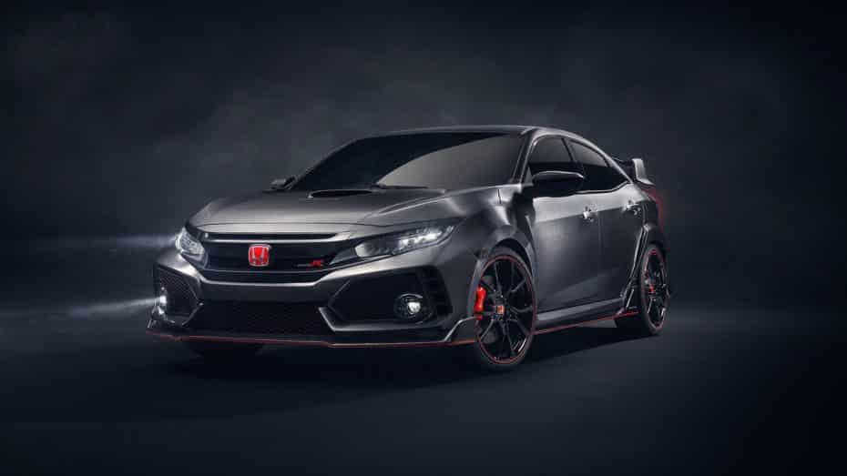 Primeras imágenes del Honda Civic Type R Concept: Agresividad en estado puro