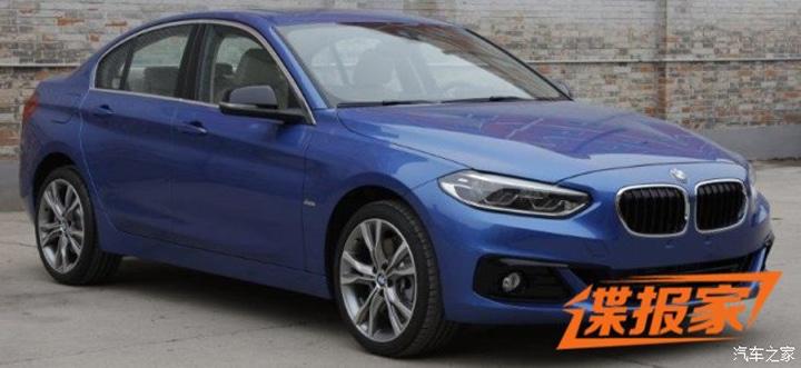 ¡Filtrado al completo! El BMW Serie 1 Sedán da la cara en la red: Sólo para China