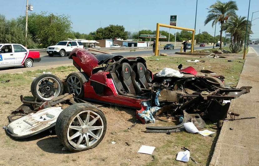 Un brutal accidente acaba con el único Koenigsegg CCX Custom Vision: Sus ocupantes, casi ilesos