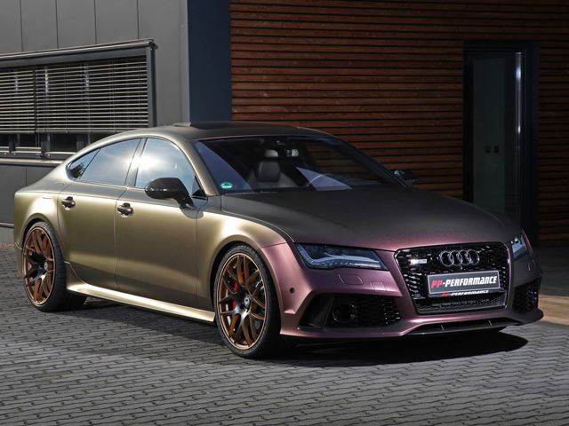 Si decimos Audi RS7, 755 CV, Akrapovîc y una pintura que cambia de color ¡El resultado es salvaje!