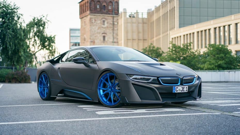 ¿Querías un BMW i8 más radical? German Special Customs te lo crea al más puro estilo 'Blade Runner'