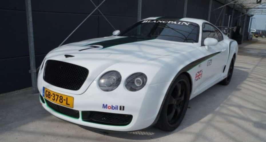 ¿15.000 dólares por un Bentley GT3 R? Quizá es porque debajo se esconde… ¡Un Toyota Supra!