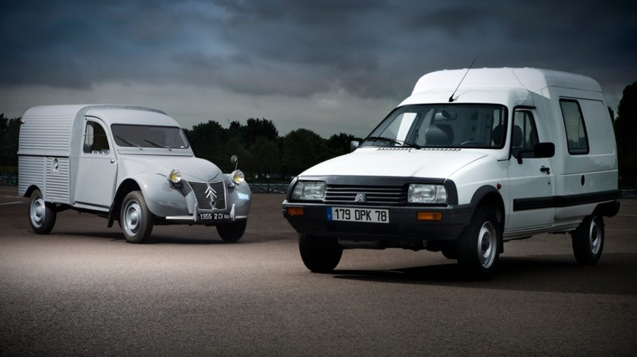 La Citroën 2CV Furgoneta cumple 65 primaveras: La abuela de la C-15, la primera que se fabricó en Vigo