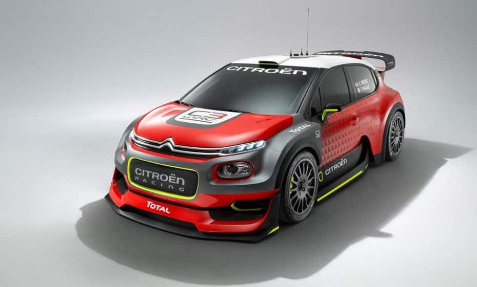 C3 WRC CONCEPT: El futuro coche de rally de Citroën no pinta nada mal