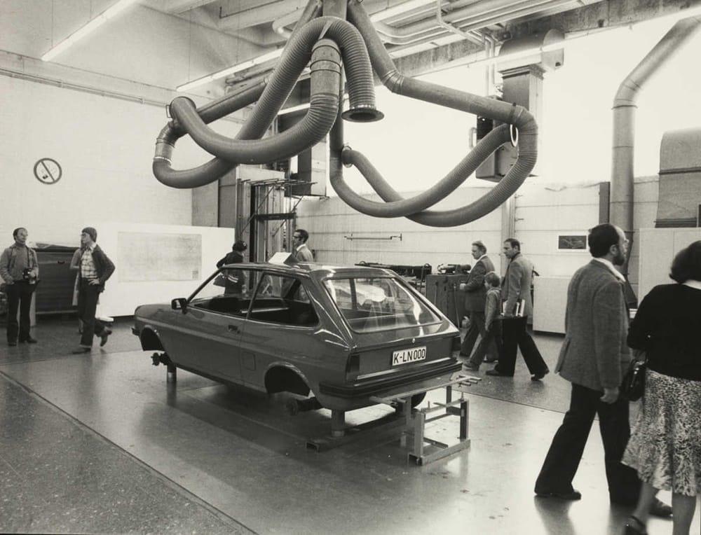 Ford Werk Koeln Merkenich, Tag der offenen Tuer, 1976