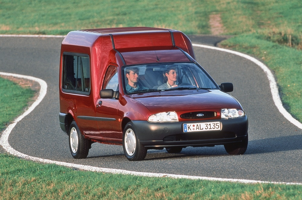 Ford Fiesta Courier Family 1995