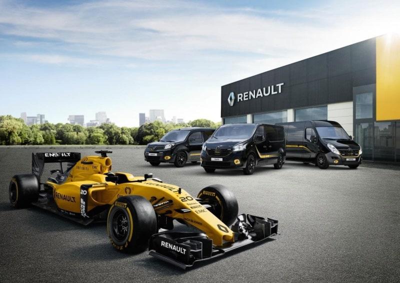¿Una furgoneta inspirada en la Fórmula Uno? Renault lo ofrecerá en toda su gama de comerciales