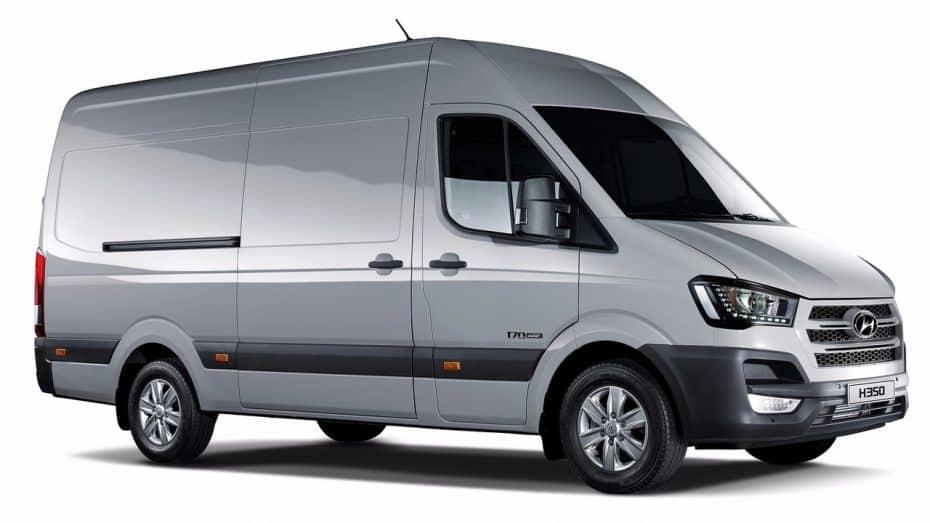Hyundai H350 Fuel Cell Concept: La apuesta coreana cuenta con una pila de hidrógeno y 422 km de autonomía