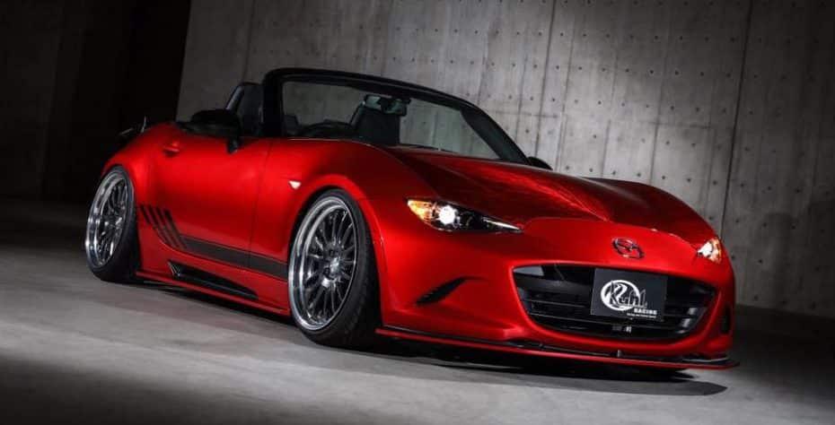 Kuhl Racing también se atreve a radicalizar el Mazda MX-5 2016: ¿Para gustos los colores?