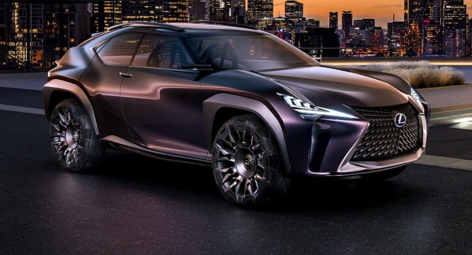 Lexus nos muestra el UX Concept: El SUV urbano y deportivo venido directamente del futuro