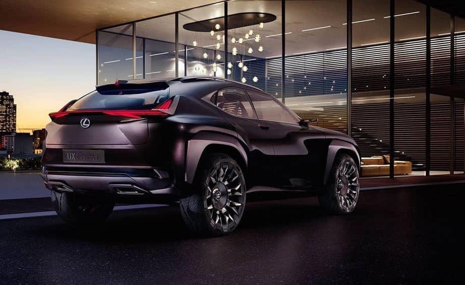 El Lexus UX Concept «aparece por arte de magia…»