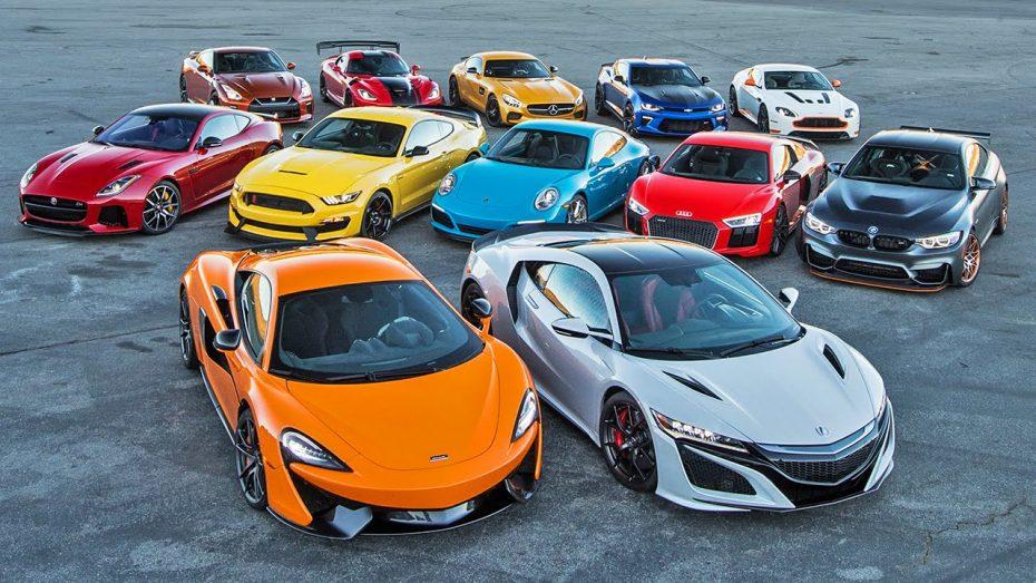 'Motor Trend' enfrenta a los mejores deportivos de 2016: ¿Adivinas cuál es el claro ganador?